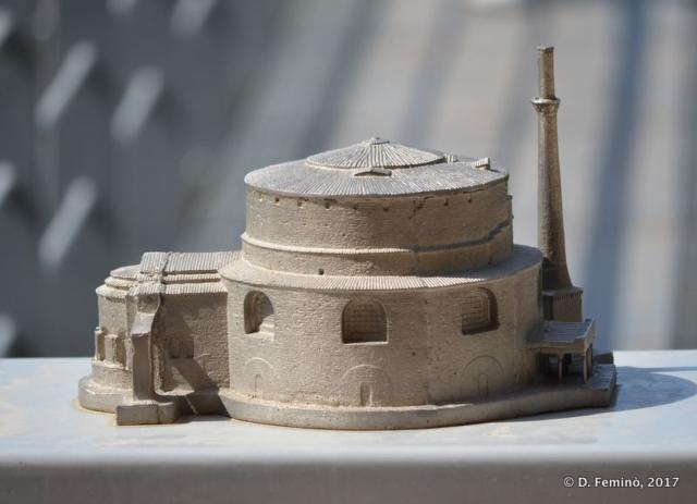 Model of Rotunda (Thessaloniki, Greece, 2017)