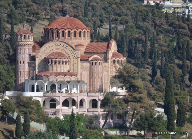 Modern church (Thessaloniki, Greece, 2017)