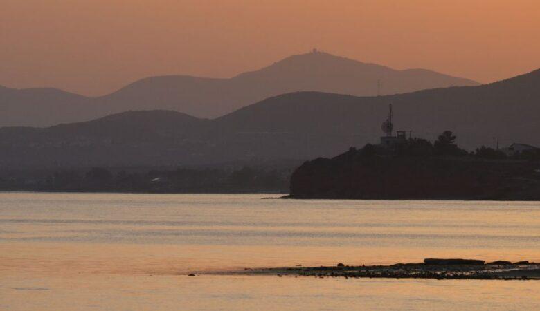 Sunset in Alexandroupoli