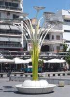 Vegetable lamp in Orestiada