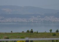 Ioannina lake from the highway
