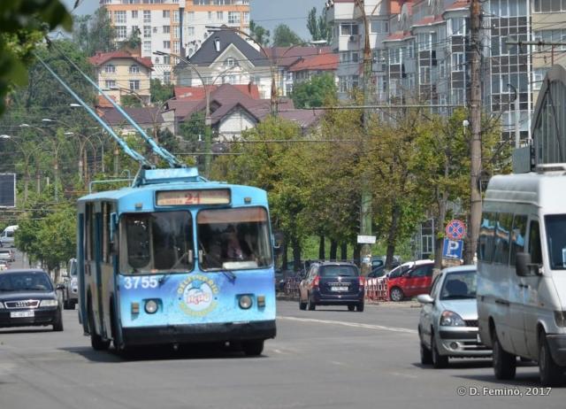 Trolleybus (Chișinău, Moldova, 2017)