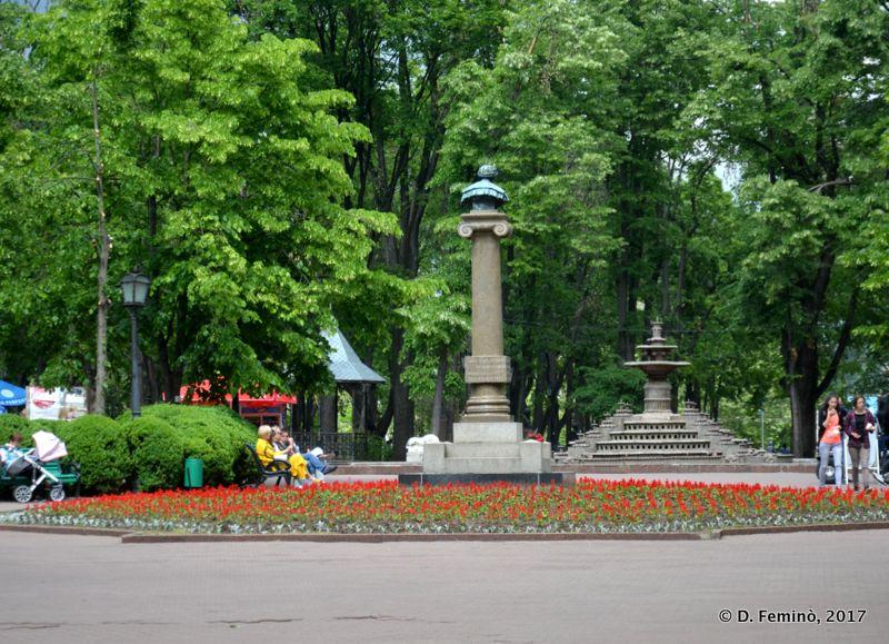 Ștefan cel Mare gardens (Chișinău, Moldova, 2017)