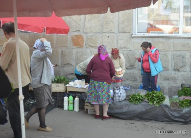 Market (Chișinău, Moldova, 2017)