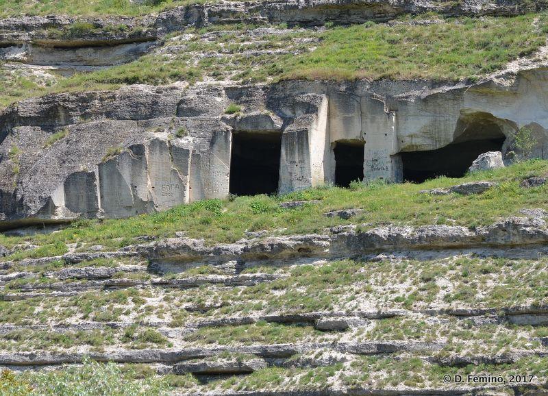 Caves in Orheiul Vechi (Trebujeni, Moldova, 2017)