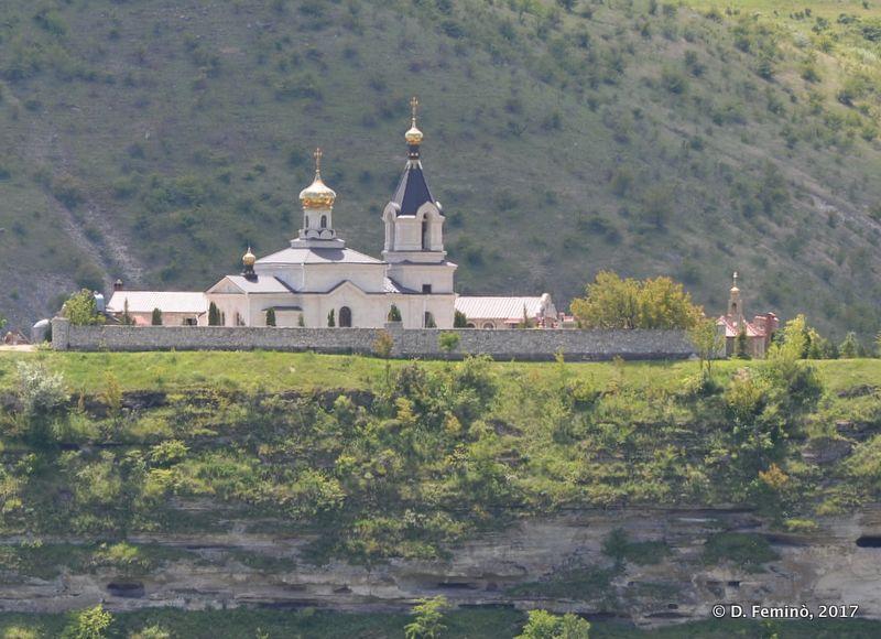 Monastery in Orheiul Vechi (Butuceni, Moldova, 2017)
