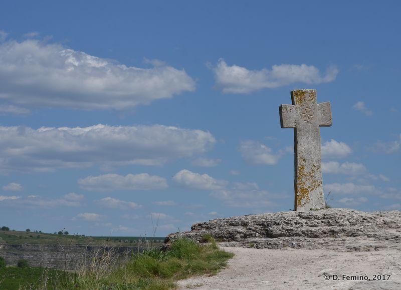 Cross of Monastery in Orheiul Vechi (Butuceni, Moldova, 2017)