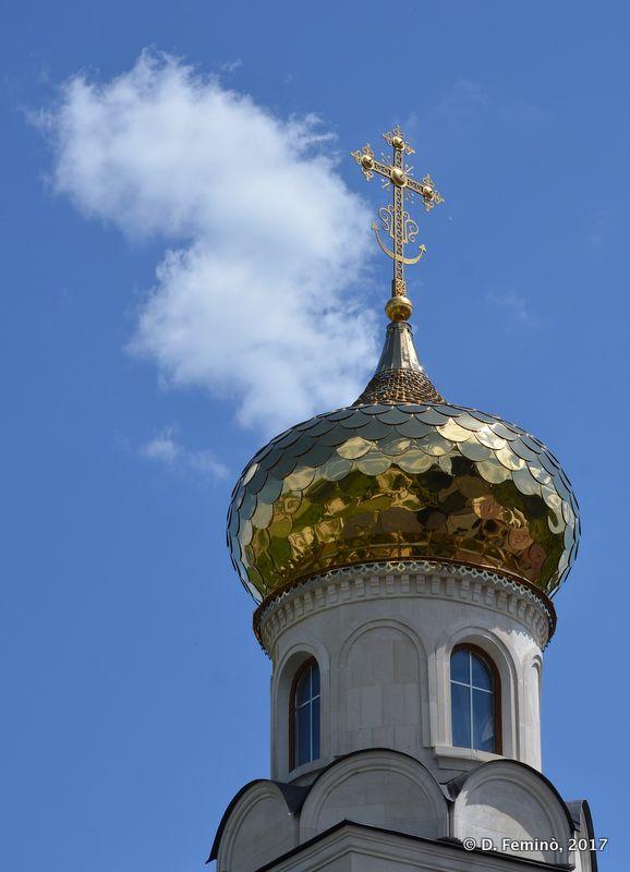 Dome of Monastery in Orheiul Vechi (Butuceni, Moldova, 2017)