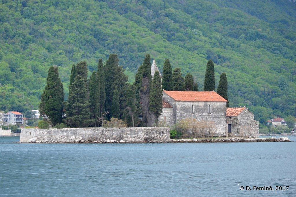 Perast, Montenegro, Sveti Đorđe Island