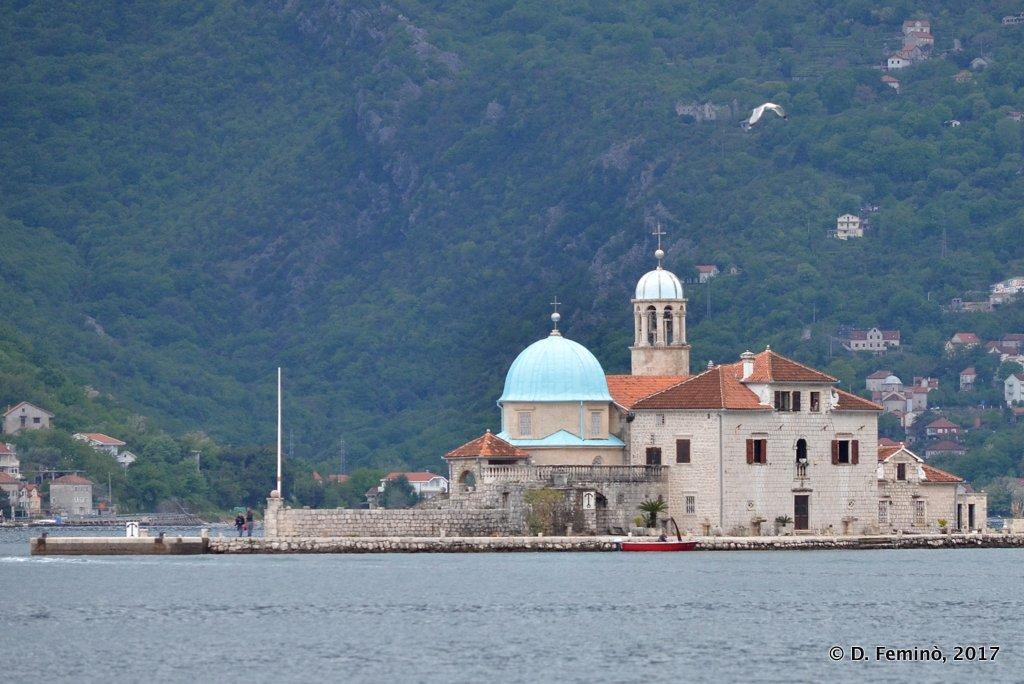 Perast, Montenegro, Our Lady of the Rock Islet