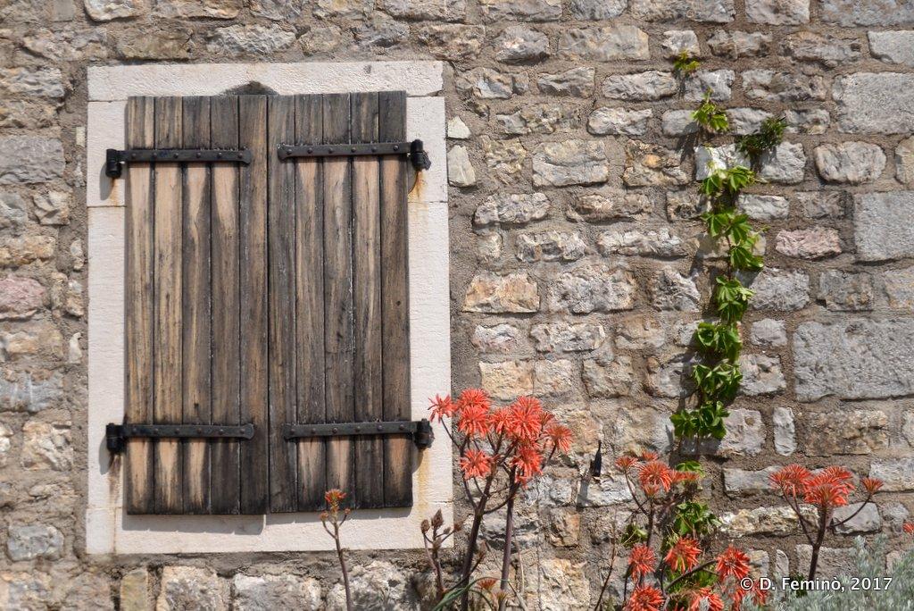 Budva, Montenegro, Window in the citadel