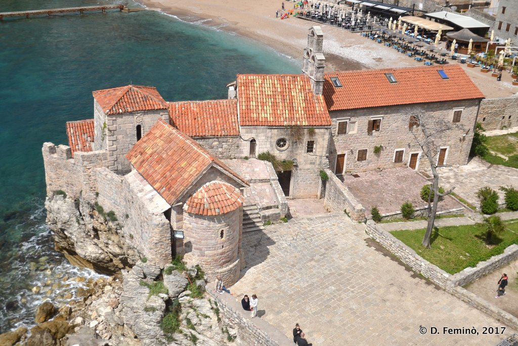 Budva, Montenegro, Church of Santa Maria in Punta