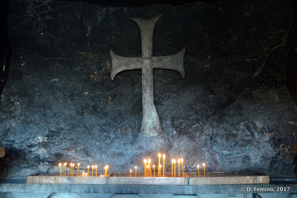 Ostrog, Montenegro, Cave church in upper monastery