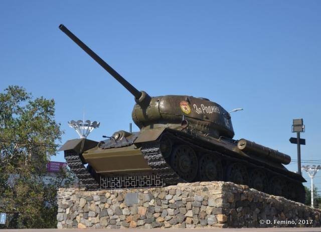 Tank (Tiraspol, Transnistria, 2017)