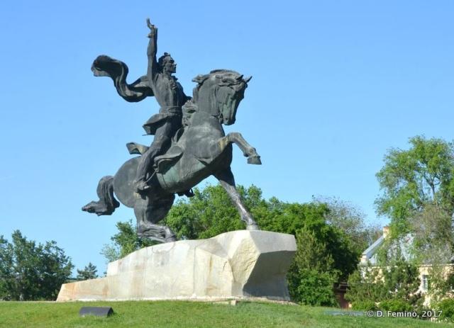 General Suvurov monument (Tiraspol, Transnistria, 2017)
