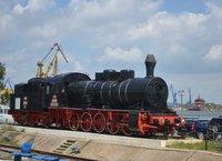 Old locomotive in Tulcea