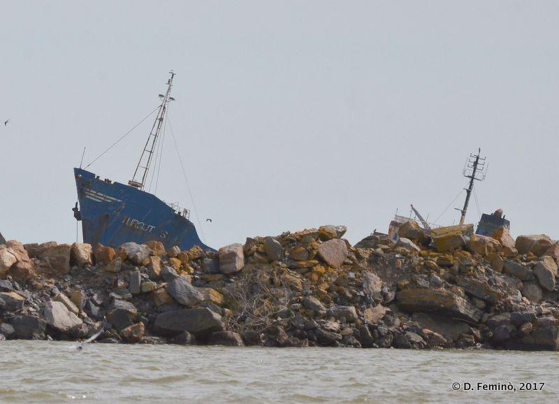 Turgut Usta Shipwreck (Romania, 2017)