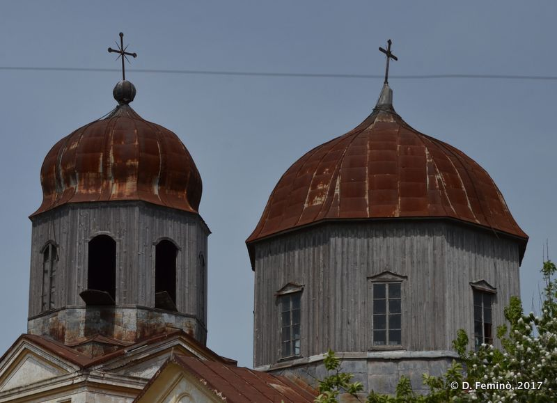 Russian church domes (Sulina, Romania, 2017)