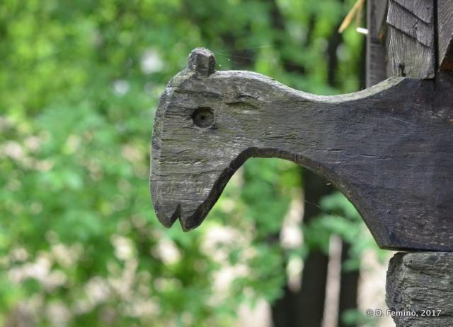 Horse profile in Village Museum (Bucharest, Romania, 2017)