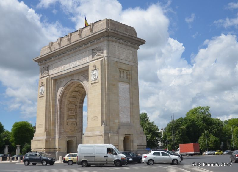 Arcul de Triumf (Bucharest, Romania, 2017)
