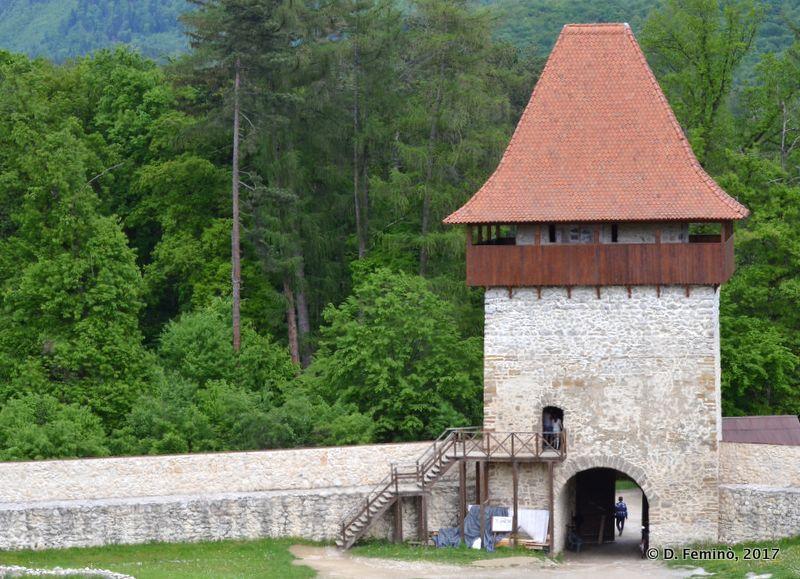 Defensive tower (Rašnov, Romania, 2017)