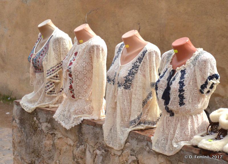 Traditional shirts (Rašnov, Romania, 2017)