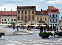 Square in Brašov
