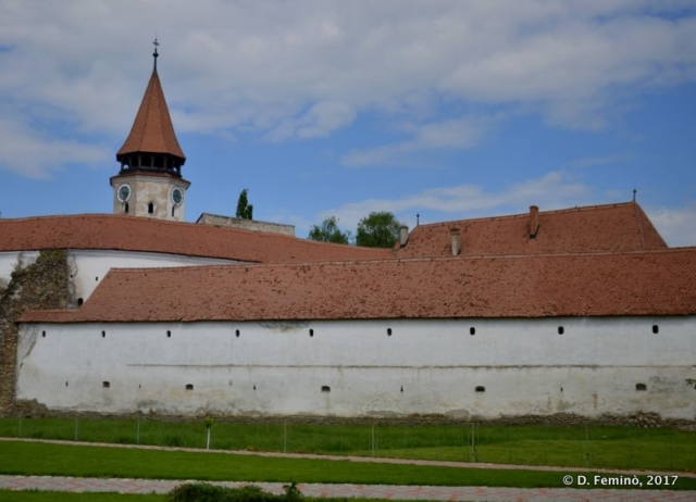 Fortified church (Biertan, Romania, 2017)