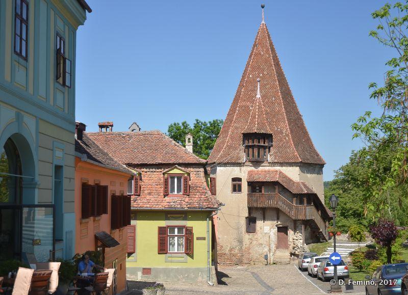 Tower of Shoemakers (Sighișoara, Romania, 2017)