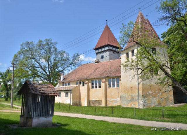 Fortified church (Romania, 2017)