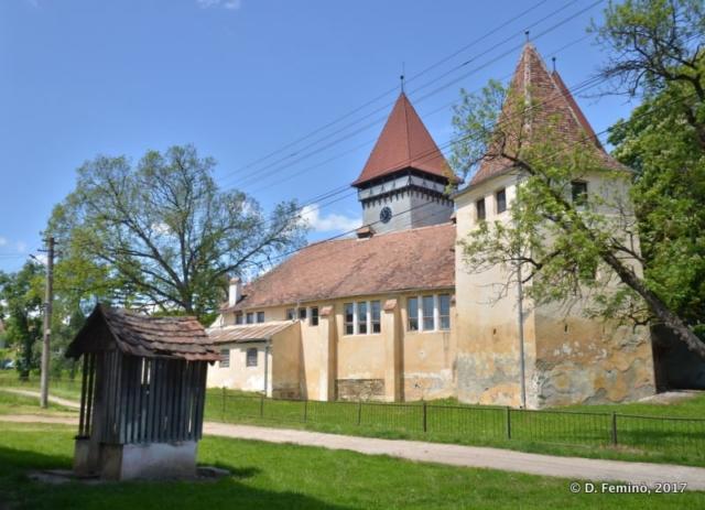 Fortified church (Romania, 2017)