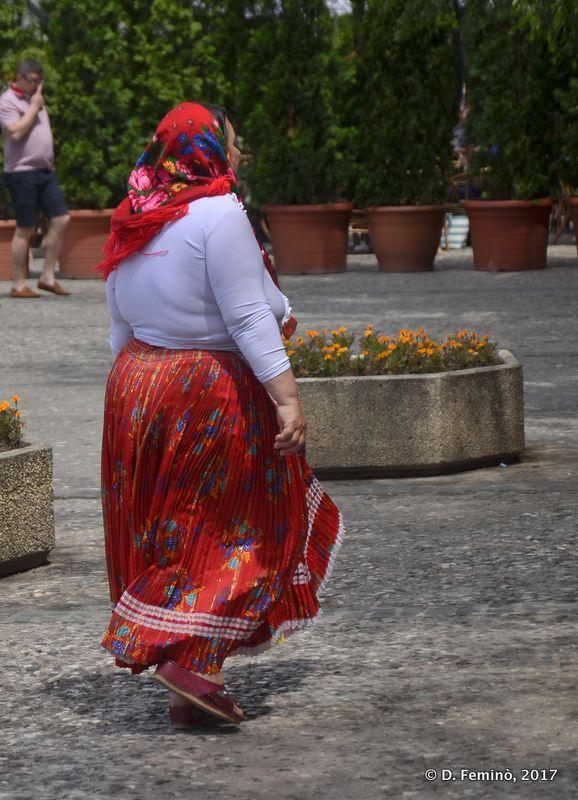 Gipsy woman (Iași, Romania, 2017)