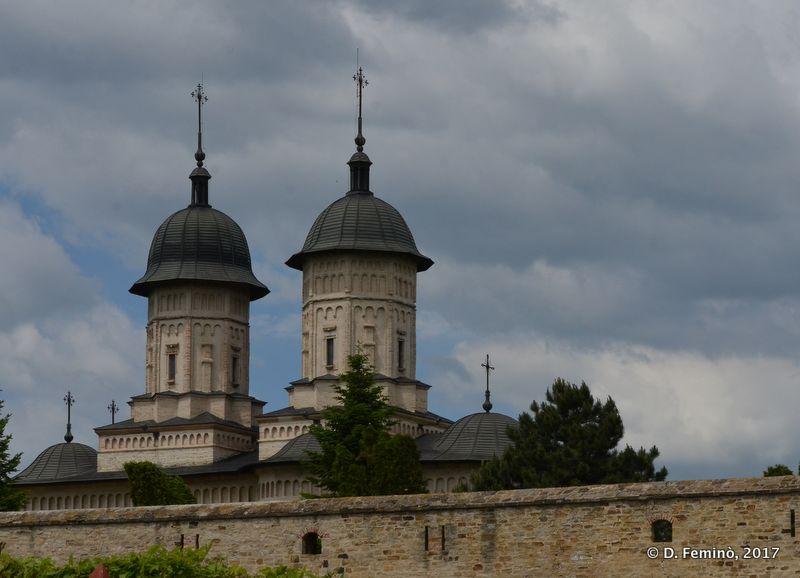 Cetățuia monastery (Iași, Romania, 2017)