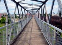 Bridge over railways