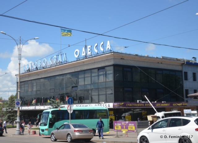 Central bus station (Odessa, Ukraine, 2017)