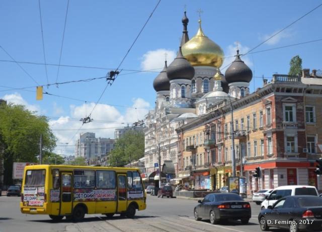 Sviato-Uspenskyi Cathedral (Odessa, Ukraine, 2017)