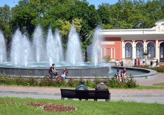 Gardens in Odessa