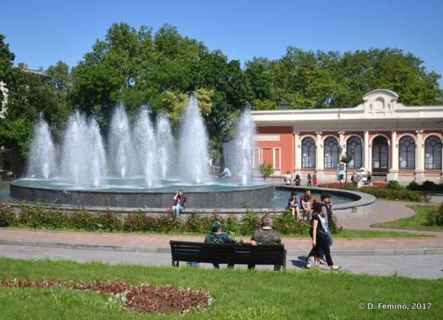 Fountain (Odessa, Ukraine, 2017)