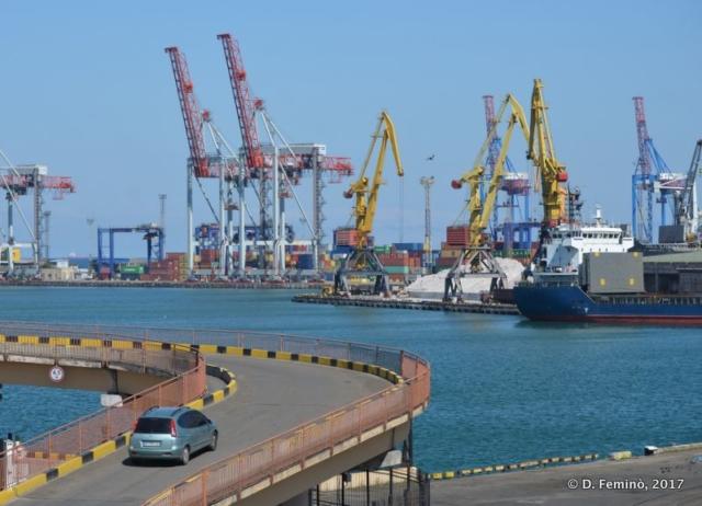 The harbour (Odessa, Ukraine, 2017)