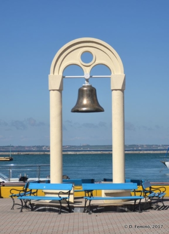 Bell on the Black Sea (Odessa, Ukraine, 2017)