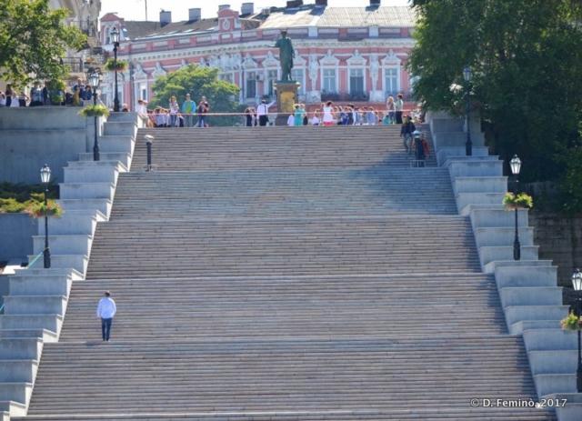 Potëmkin Stairs (Odessa, Ukraine, 2017)