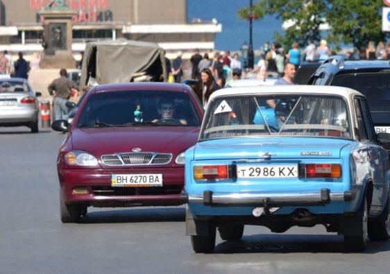 Traffic in Odessa