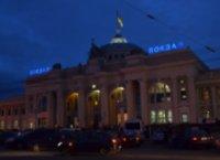 Odessa station at night