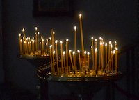 Candles in Pechersk