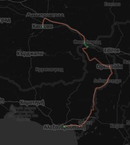 Path to Bulgaria