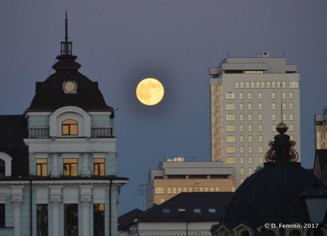 Full moon (Kazan, Russia, 2017)