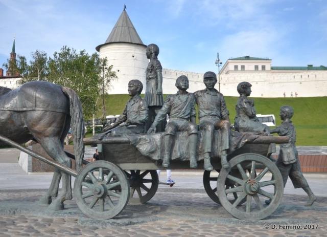 Monument to Asgat Galimzyanov (Kazan, Russia, 2017)