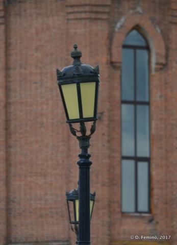 Leaning lamp (Tobolsk, Russia, 2017)