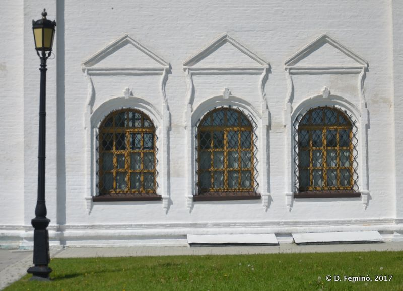 Windows in the Kremlin (Tobolsk, Russia, 2017)