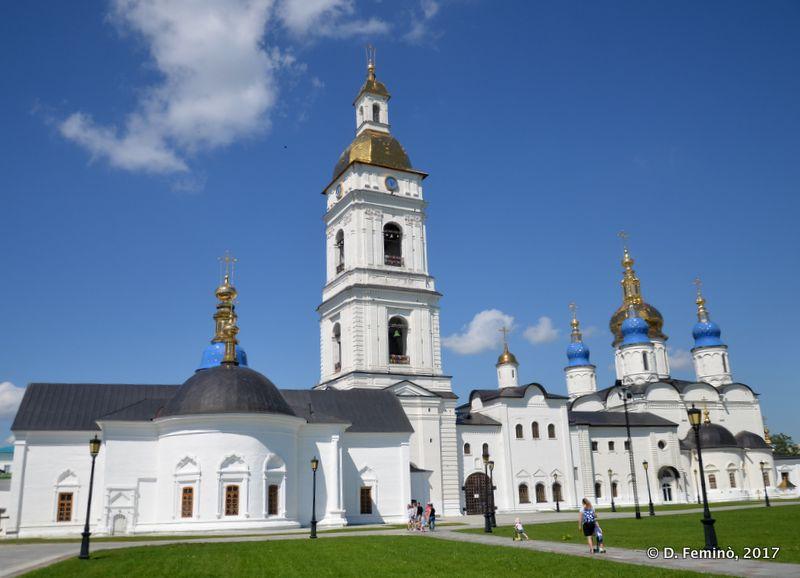 Cathedrals in the Kremlin (Tobolsk, Russia, 2017)